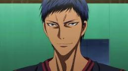 I like him the most on the court, Aomine Daichi - Kuroko No Basket